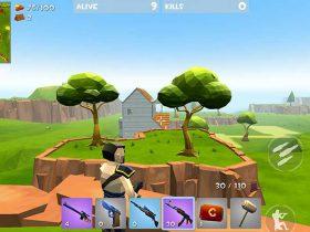 بازی موبایل راکت رویال - Rocket Royale