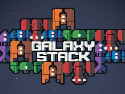 معرفی و دانلود بازی موبایل Galaxy Stack