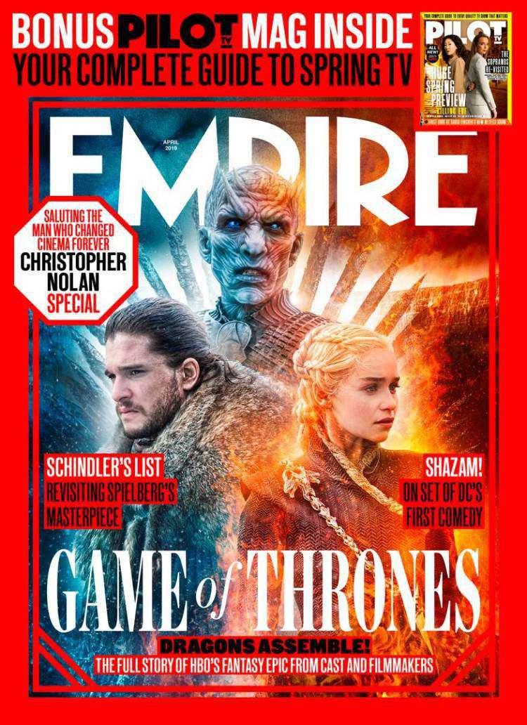 سریال گیم آو ترونز - Game of Thrones - بازی تاج و تخت روی جلد امپایر