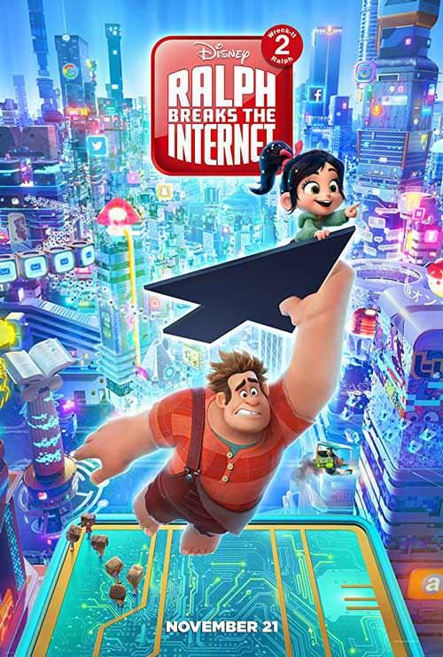 نقد انیمیشن Ralph Breaks the Internet - رالف اینترنت را خراب می کند