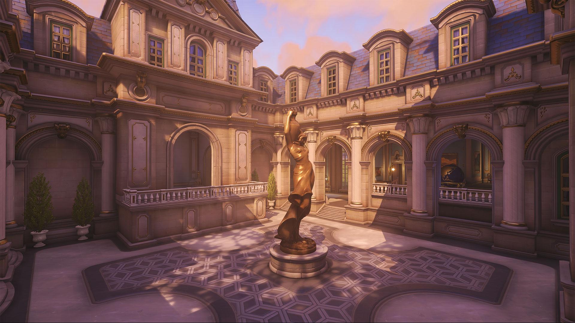 نقشه پاریس بازی Overwatch