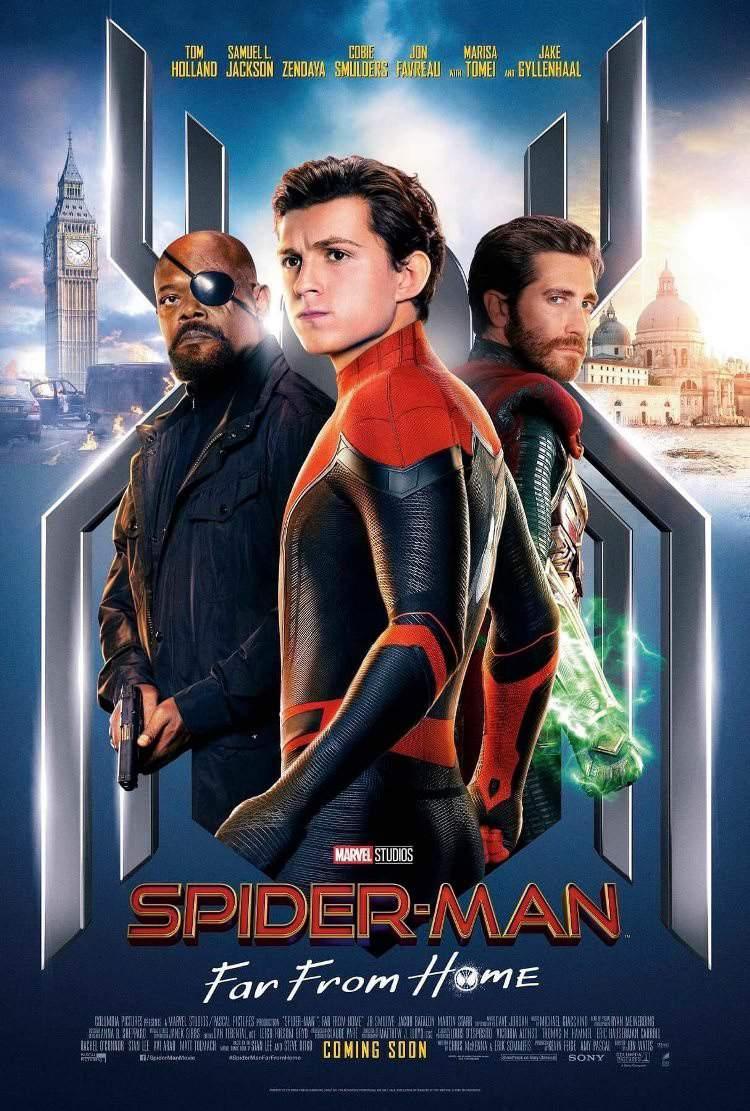 پوسترهای فیلممرد عنکبوتی: دور از خانه - Spider-Man: Far From Home