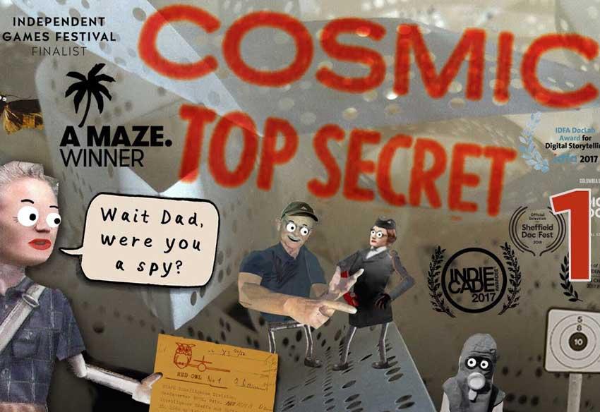 دانلود بازی موبایل Cosmic Top Secret
