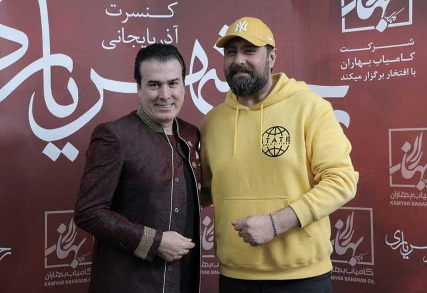 محمد علیزاده در کنسرت رحیم شهریاری