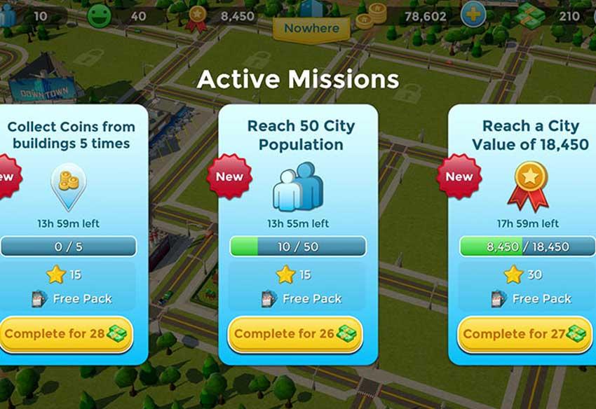 معرفی و دانلود بازی موبایل Citytopia