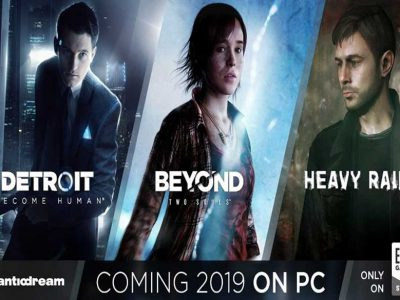 سه بازی Heavy Rain ،Beyond: Two Souls و Detroit: Become Human برای پی سی تایید شدند