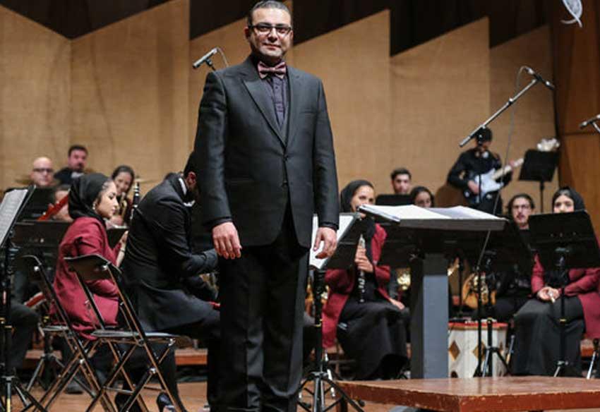 ارکستر مجلسی تهران به رهبری بردیا کیارس «آرش کمانگیر» را اجرا میکند