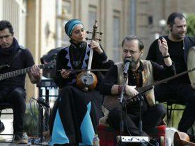 کنسرت گروه رستاک در میدان مشق تهران