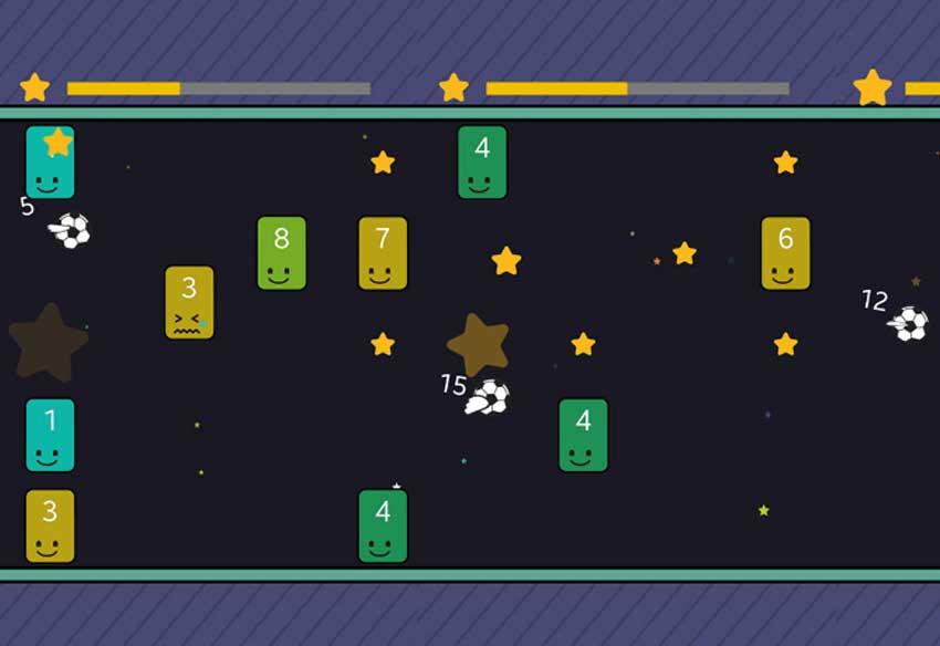 معرفی و دانلود بازی موبایل Balls Break Blocks