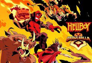 پسر جهنمی - Hellboy در بازی Brawlhalla