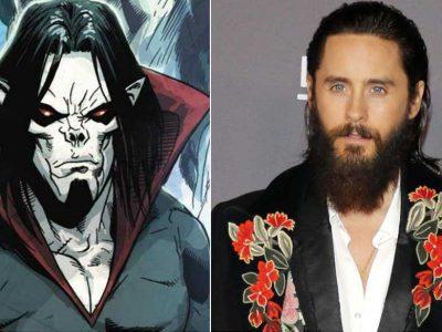 جرد لتو در صحنههای فیلمبرداری فیلم موربیوس - Morbius شرکت سونی پیکچرز