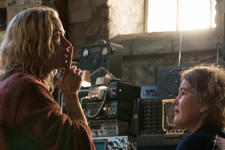 امیلی بلانت در فیلم ترسناک یک مکان ساکت ۲ - A Quiet Place 2