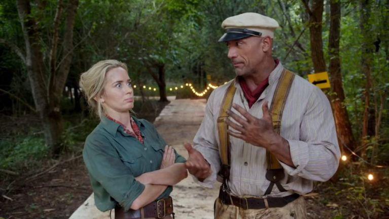 امیلی بلانت درفیلم Jungle Cruise
