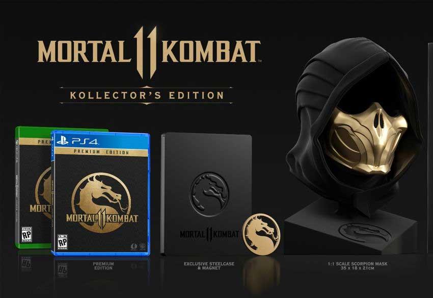 شخصیت بازی مورتال کمبت 11 - Mortal Kombat 11 با نام Kollector