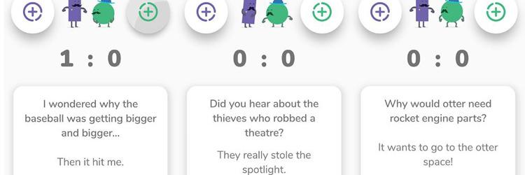 بازی موبایل Dad Jokes Duel