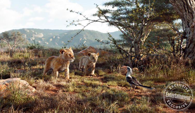 تصاویر جدید فیلم شیر شاه با حضور سیمبا، موفاسا و اسکار