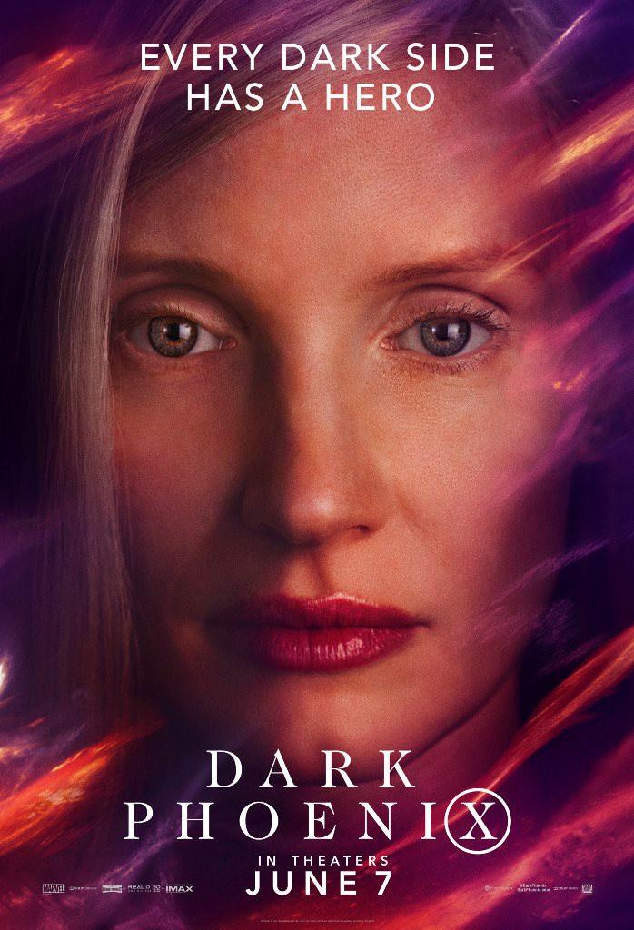 پوسترهای جدید فیلم دارک فنیکس - Dark Phoenix با بازی جنیفر لارنس