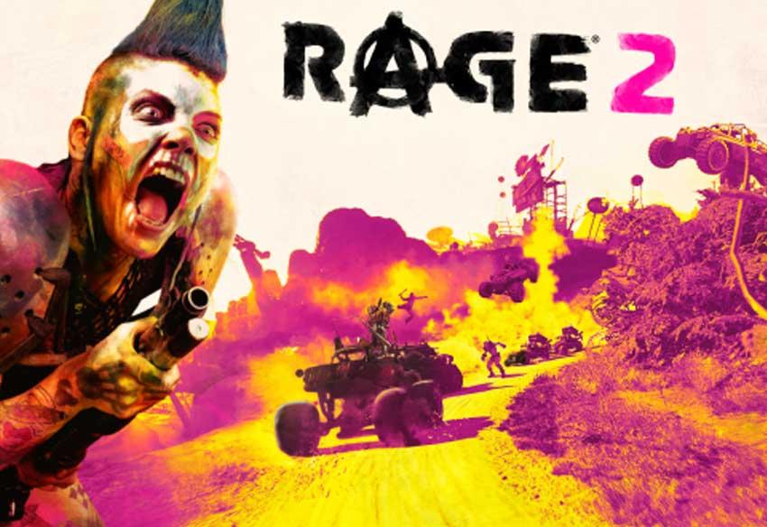 تریلر جدید بازی ریج 2 - Rage 2