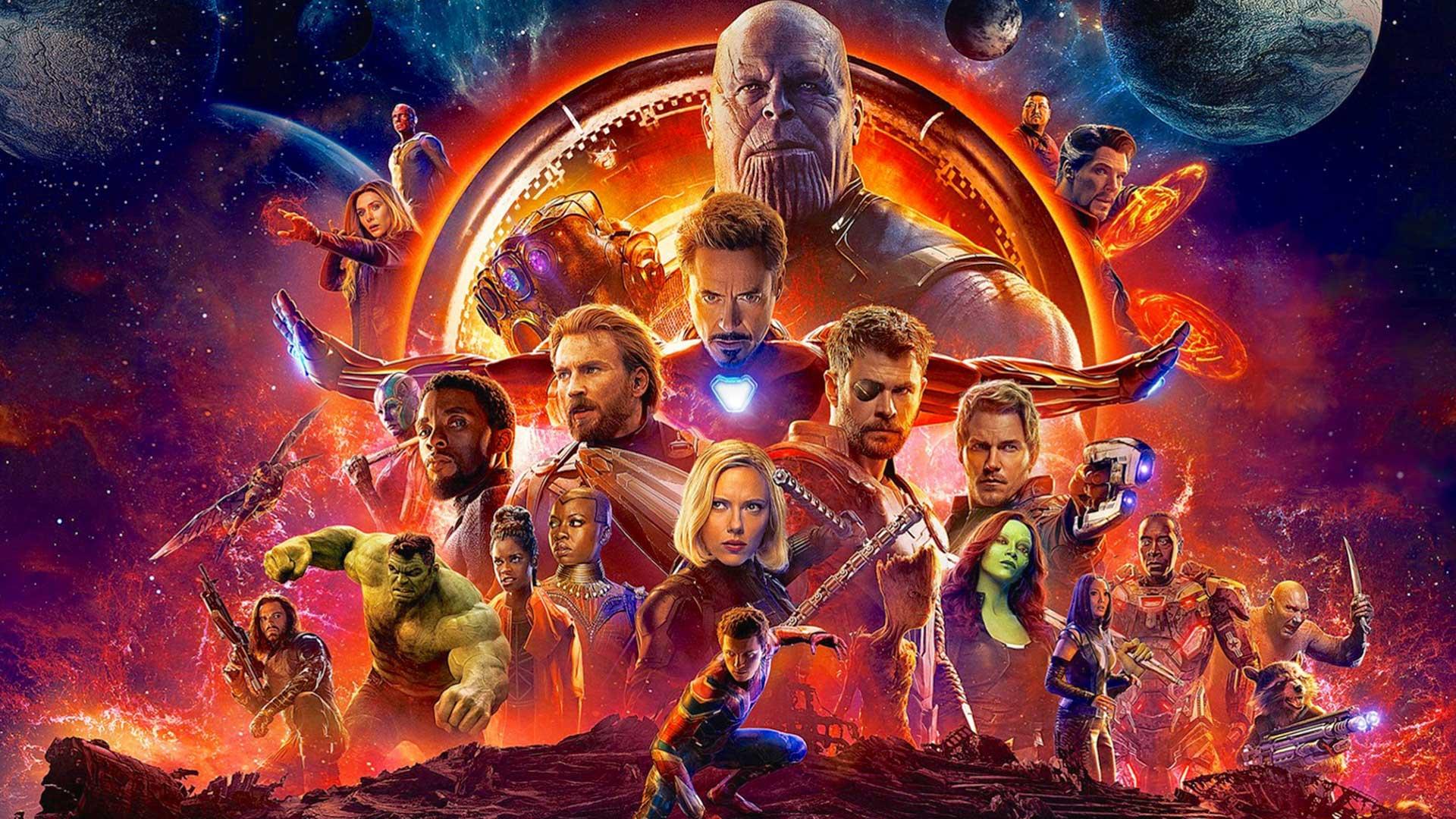 اونجرز: جنگ اینفینیتی - جنگ بینهایت -Avengers: Infinity War - دیزنی / مارول