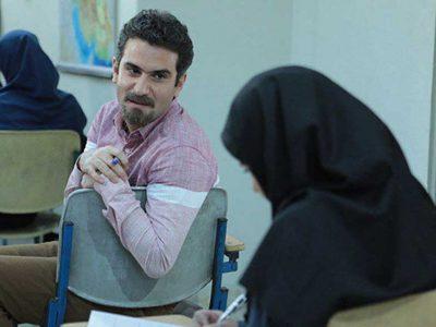 گریم هوتن شکیبا در سریال فوق لیسانسه ها سروش صحت