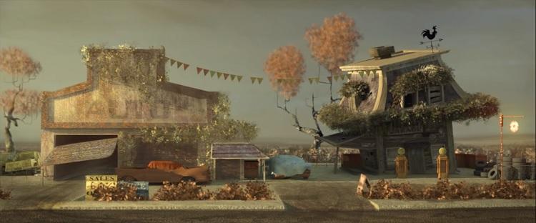 انیمیشن کوتاه Home Sweet Home