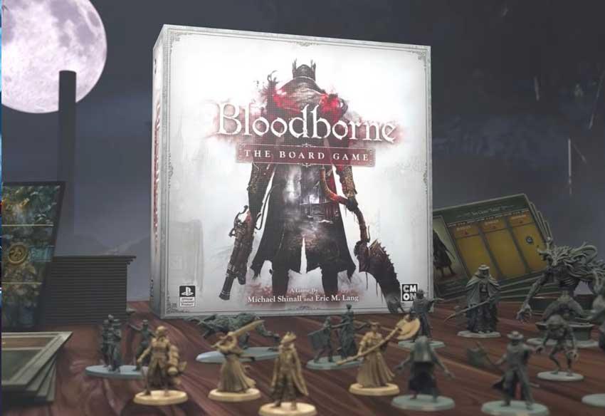 تریلر جدید بازی رومیزی بلادبورن - Bloodborne