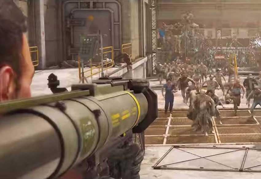 تریلر هنگام عرضه بازی جنگ جهانی زد - World War Z و کشتار زامبیها