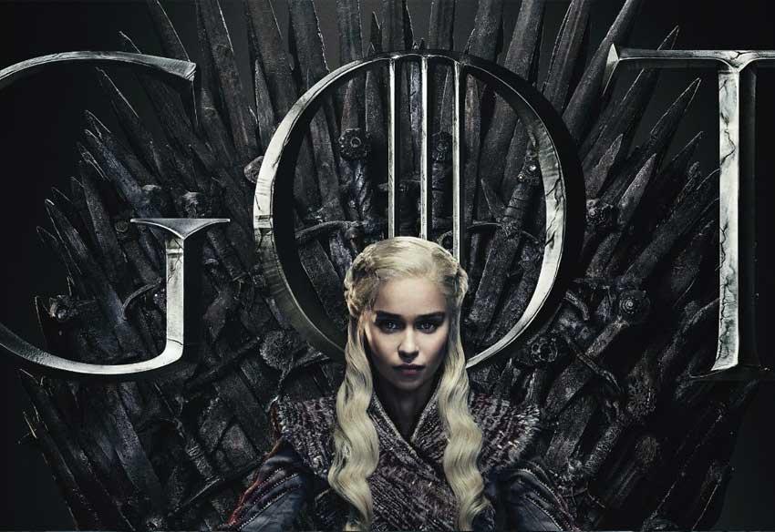 تبلیغ تلویزیونی فصل پایانی سریال بازی تاج و تخت - Game of Thrones