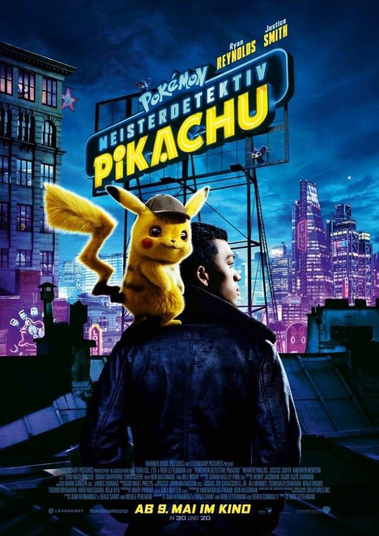 پوسترهای جدید فیلمپوکمون: کارآگاه پیکاچو - Pokemon: Detective Pikachu