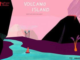 معرفی انیمیشن کوتاهجزیرهی آتشفشان -Volcano Island