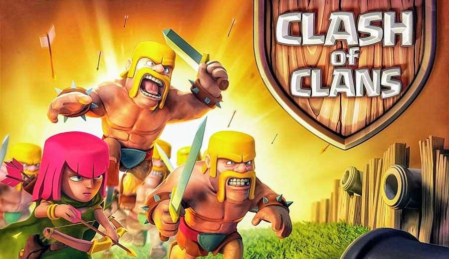 آپدیت ماه آوریل بازی موبایل کلش آف کلنز - Clash of Clans