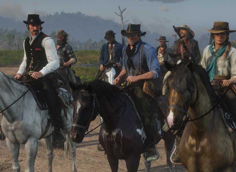بازی رد دد ردمپشن 2 -Red Dead Redemption 2