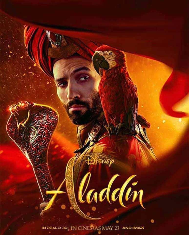 پوسترهای جدید فیلم علاءالدین - Aladdin