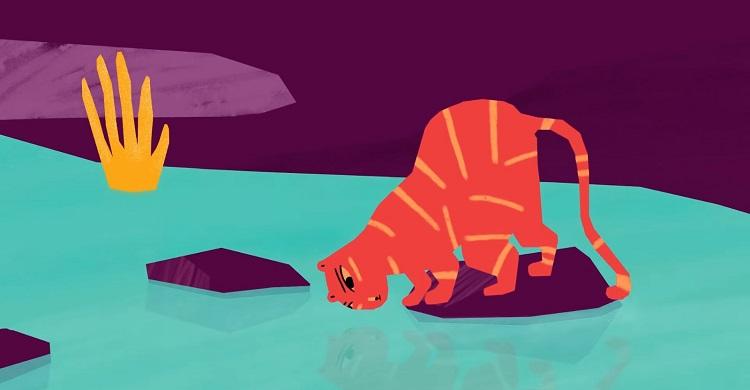 انیمیشن کوتاهجزیرهی آتشفشان -Volcano Island