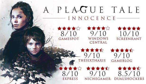 نمرات بررسی بازی A Plague Tale: Innocence از دید منتقدان سایتهای معتبر دنیا