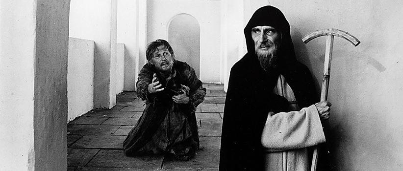 فیلم Andrei Rublev محصول روسیه کارگردان:Andrei Tarkovsky بازیگران:Anatoly Solonitsyn, Ivan Lapikov, Nikolai Grinko سال ساخت:۱۹۶۶