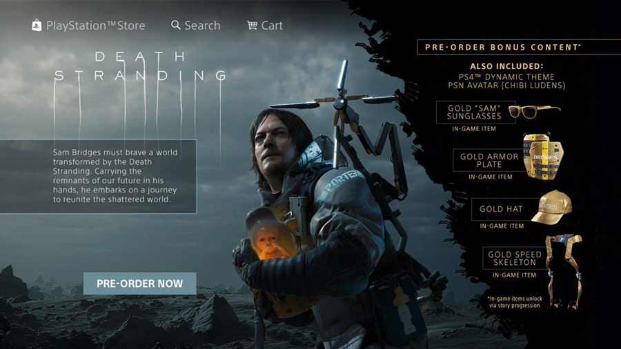 بازی دث استرندینگ - Death Stranding : تریلر، تصاویر پشت صحنه، اطلاعات و تاریخ انتشار