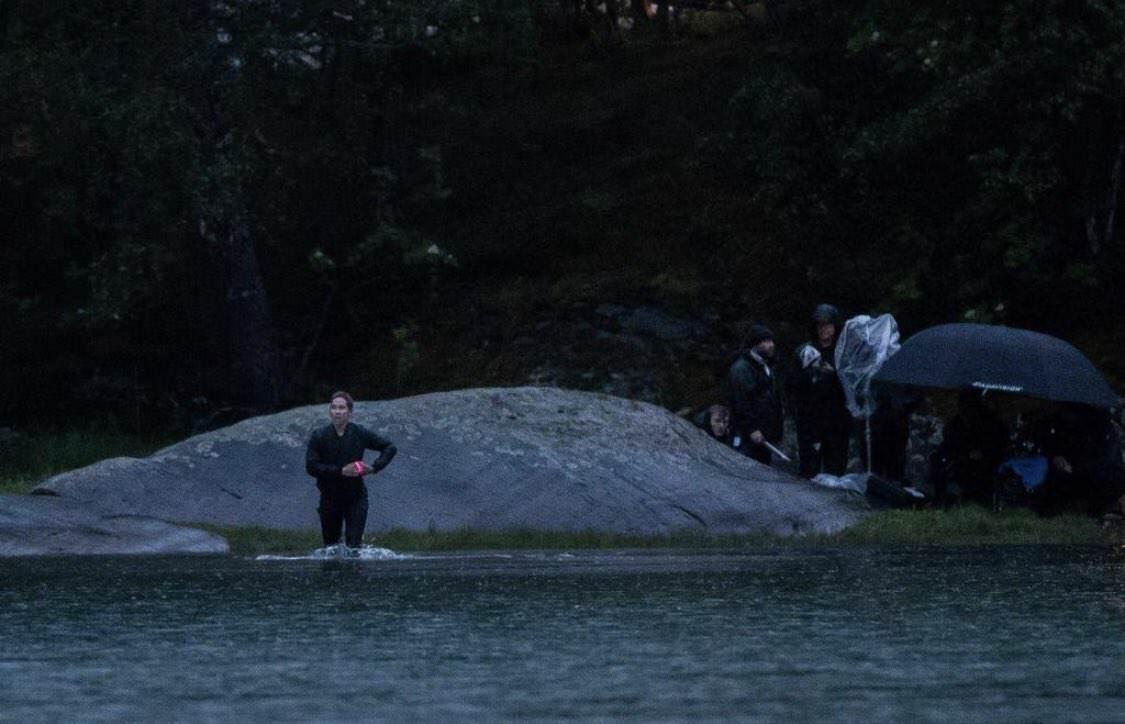 تصاویر جدیدی از پشت صحنه فیلمبرداری فیلم Black Widow