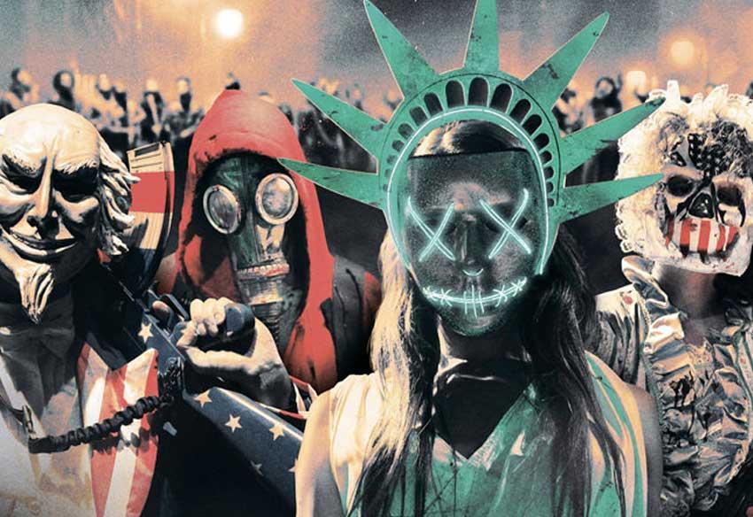 ۱۰ جولای ۲۰۲۰ تاریخ اکران قسمت پنجم فیلم پاکسازی - The Purge