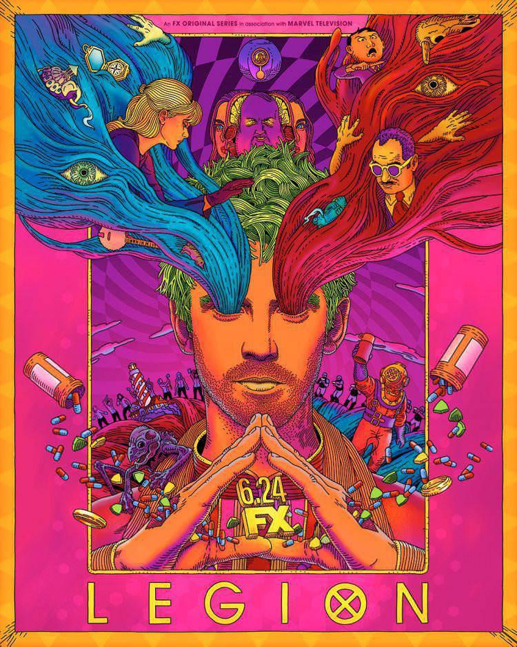پوستر فصل سوم سریاللیجن - Legion