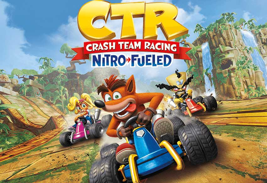 تریلر بازی Crash Team Racing Nitro-Fueled