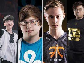 10 تیم پرطرفدار بازی League of Legends در سال ۲۰۱۸