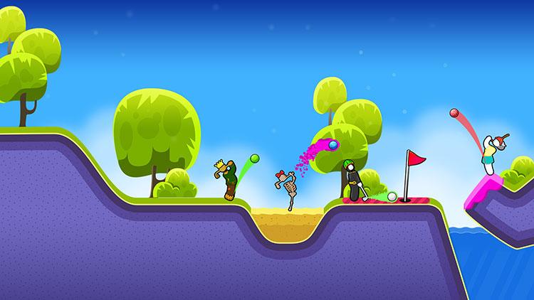 بازی موبایل Golf Blitz