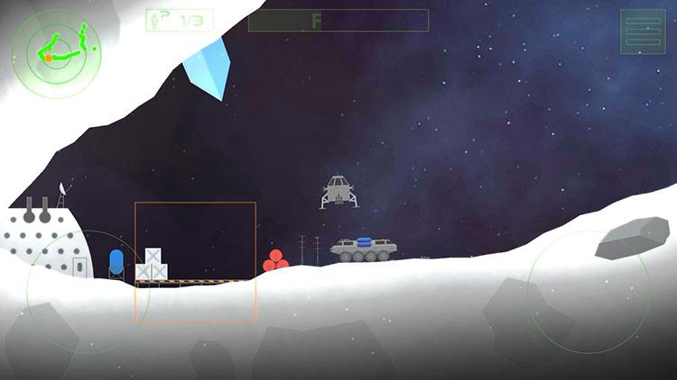 بازی موبایل Lunar Rescue Mission