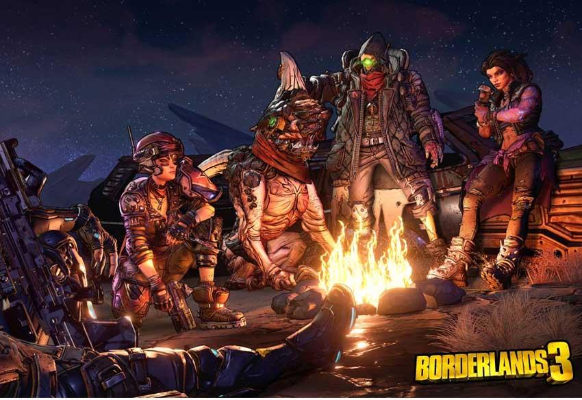 تریلر گیم پلی بازی بوردرلندز 3 - Borderlands 3