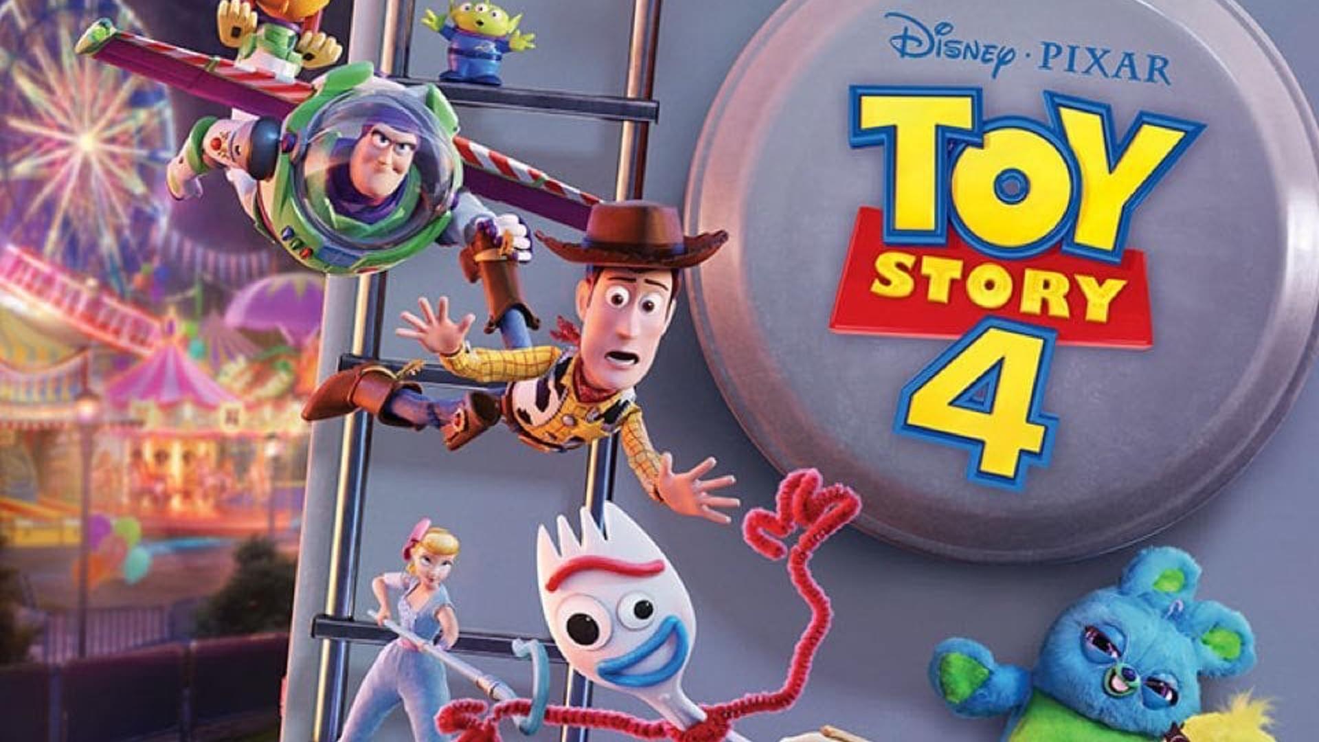 تبلیغ تلویزیونی انیمیشن داستان اسباب بازی ۴ - Toy Story 4