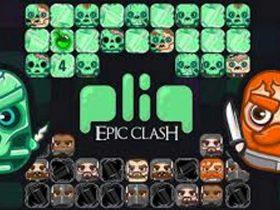 معرفی و دانلود بازی مو بایل pliq: Epic Clash Arcade Puzzle