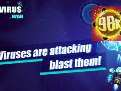 معرفی و دانلود بازی موبایل اندروید و آیفون Virus War: Space Shooting Game