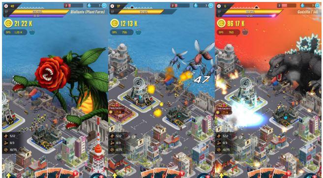 معرفی و دانلود بازی اندروید و آیفون Godzilla Defense Force