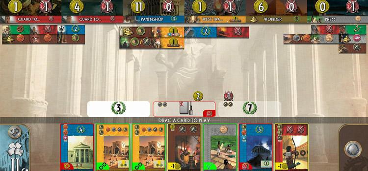 دانلود بازی موبایل Seven Wonders